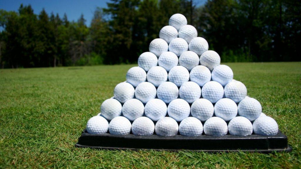 Golf Ball Pyramid Stacker