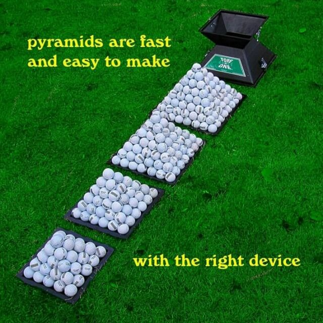 Golf Stacker Pyramids